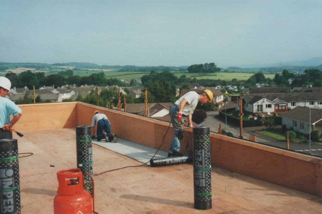 Industrial roofing work by Balmore