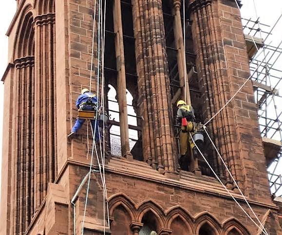 rope access building repairs specialists
