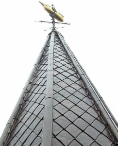 lead work on steeple