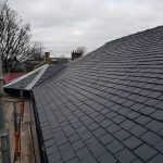 fitting a new slate roof on a sandstone property in Glasgow