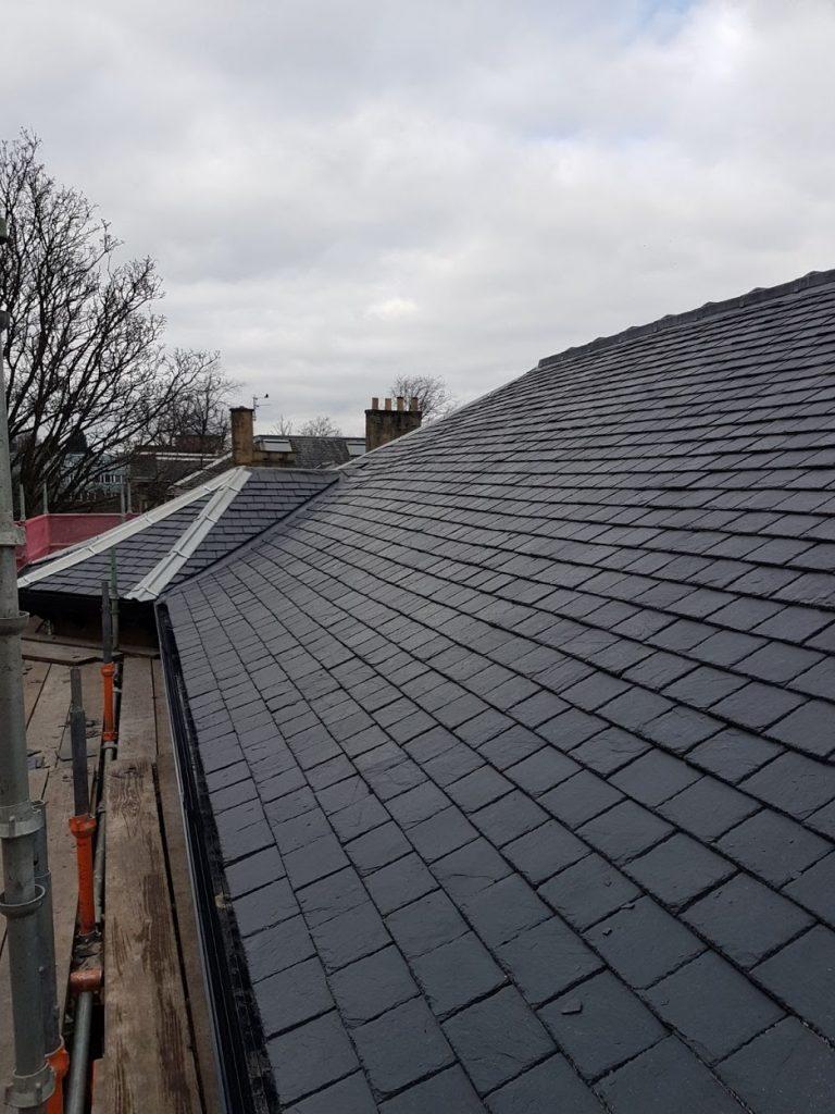 slate repairs Glasgow Roofer