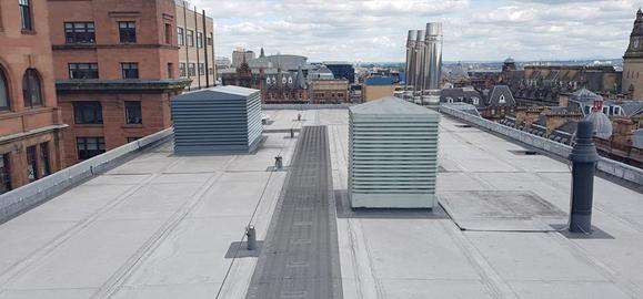 flat roof repairs glasgow