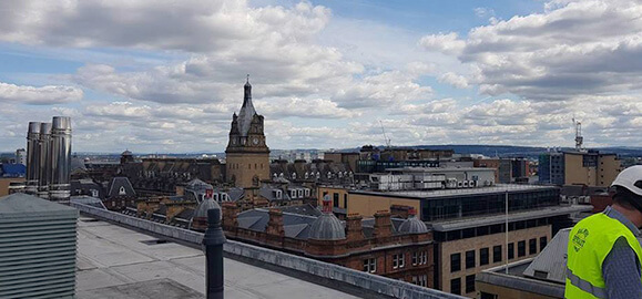 industrial roofing firm glasgow