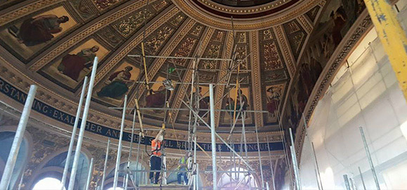 historic restoration building repairs company glasgow