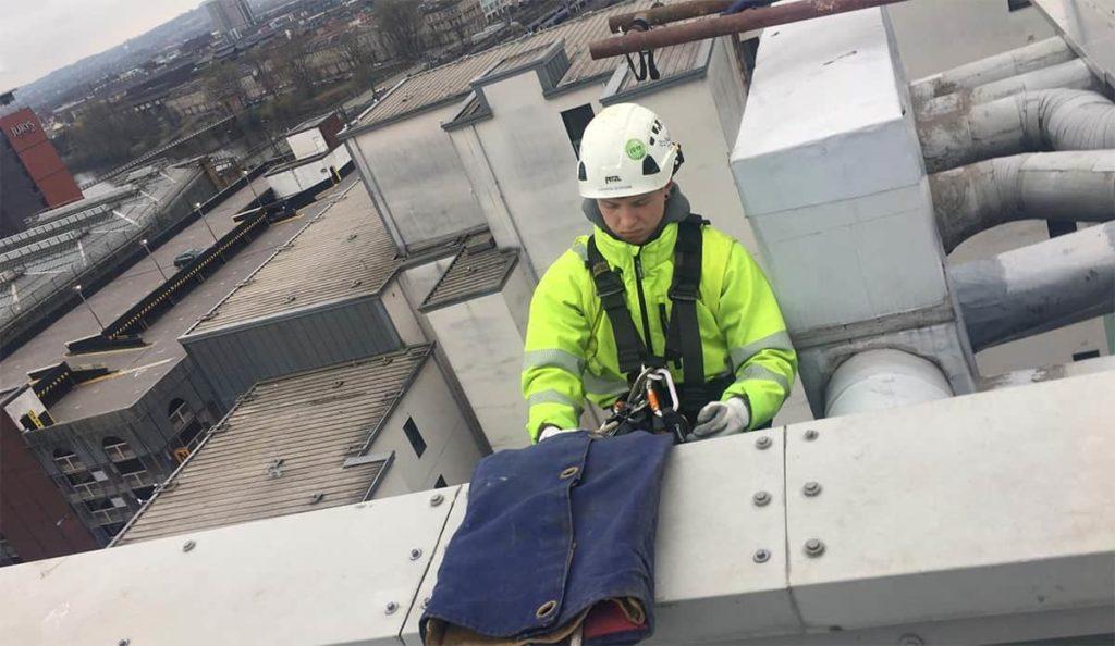 industrial roofing repairs in Glasgow