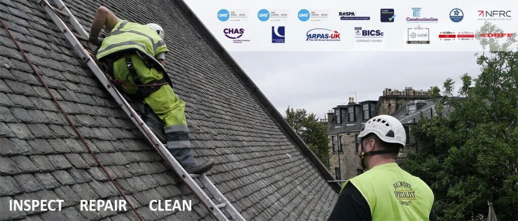 glasgow roofer, rope access and building maintenance service provider