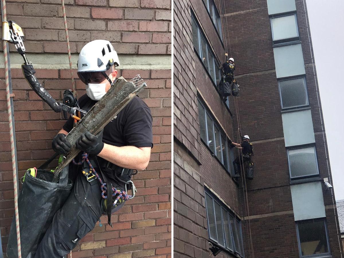 emergency building repairs
