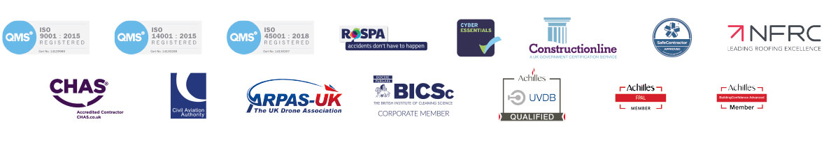 accredited roofing contractor, rope access specialists and building maintenance firm in Glasgow